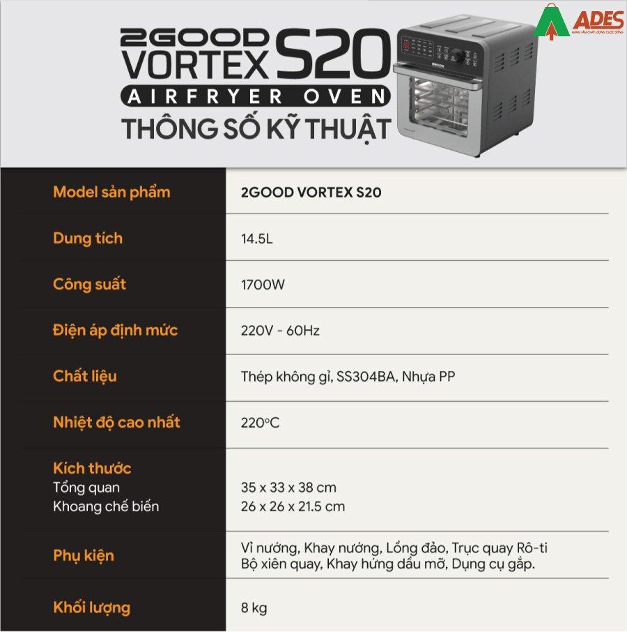 Gioi thieu Noi Chien Khong Dau 2Good Vortex S-20